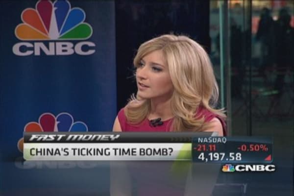 China's ticking time bomb?