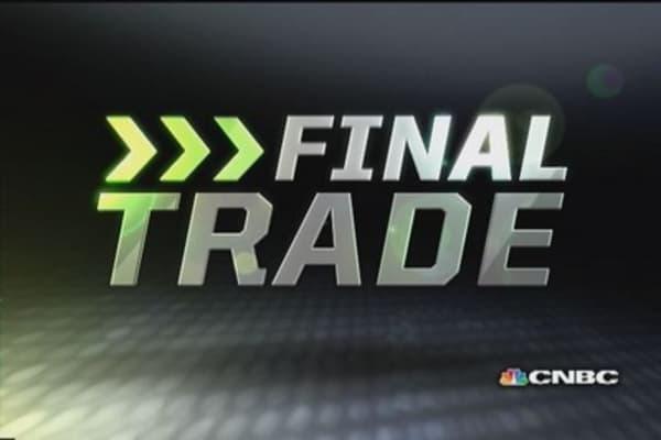 Fast Money Final Trade: JNJ, AA, AWAY & JACK