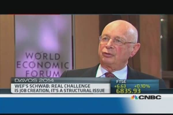 There are many 'known unknowns': WEF's Schwab