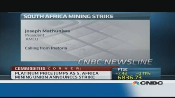 South African miners 'exploited for decades': Union