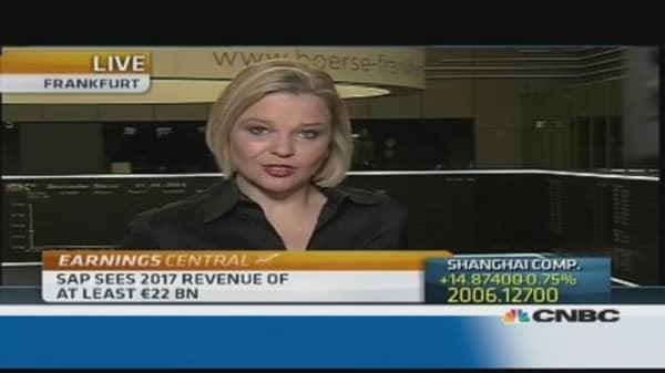 SAP says cloud investment delays profitability goal