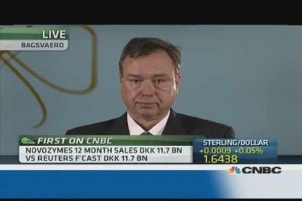 Ethanol biofuel is the 'next big thing': Novozymes CEO