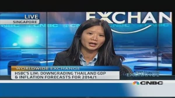Thai central bank has a 'limited' arsenal: Economist