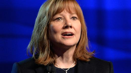 Mary Barra, CEO of General Motors.