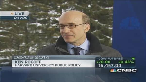 Davos: Assessing global risk