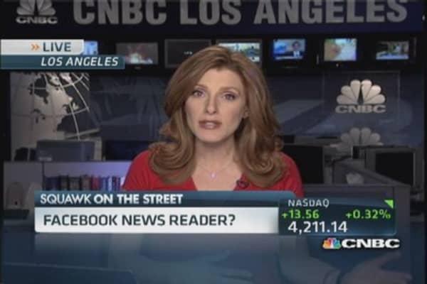 Facebook aggregates news through 'Paper'