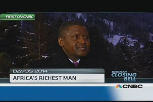 Africa 'pumping money' into education: Dangote