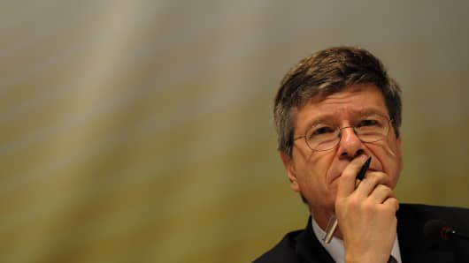 Jeffrey Sachs of the Earth Institute, Columbia University