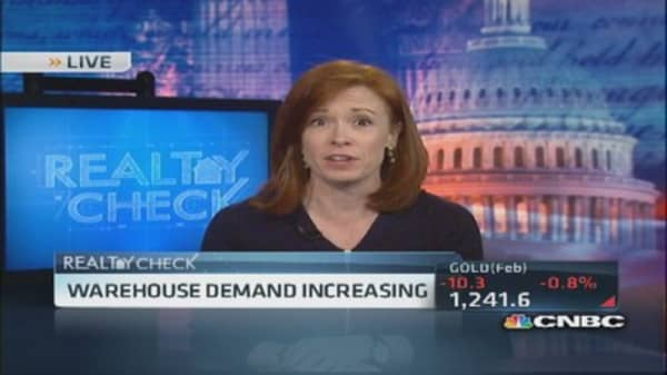 Warehouse demand increasing