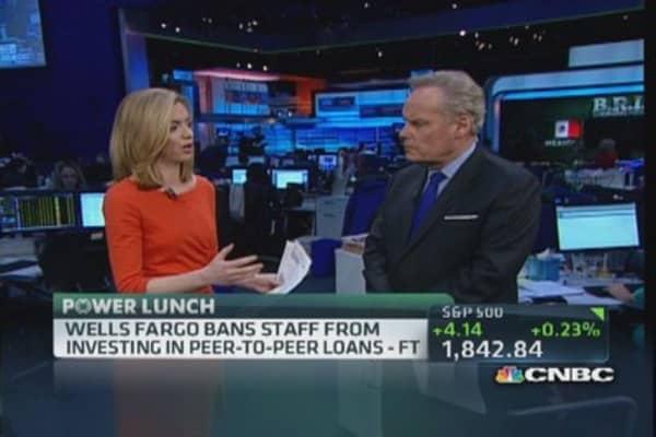 Wells Fargo bans peer-to-peer loans