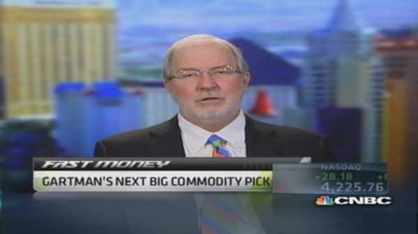 Gartman's commodity pick: Palladium