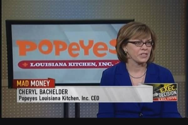 Popeye's CEO: Lots of international opportunities