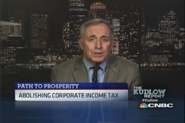 Corporate taxes drive jobs outside the U.S: Pro