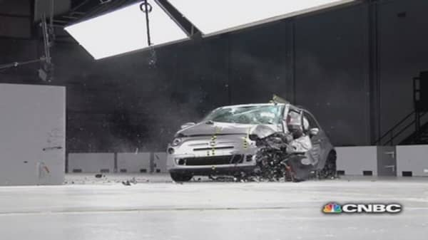 Mini car crash test results