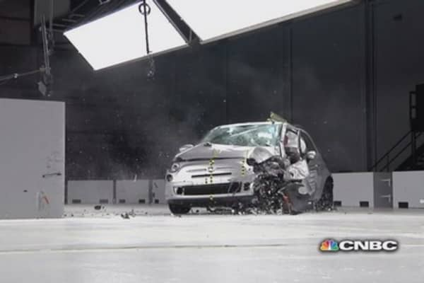 Mini car crash test results