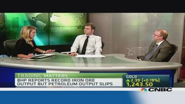 BHP banking on strong iron ore market