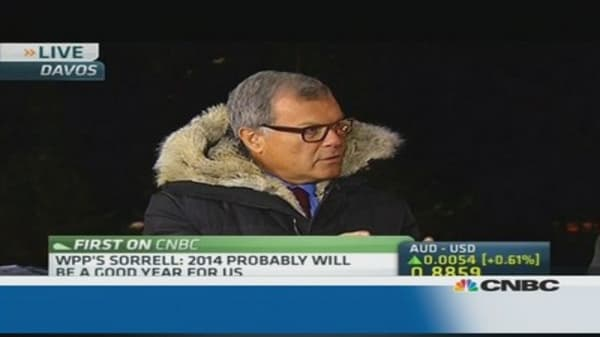 WPP's Martin Sorrell: Very bullish on Russia