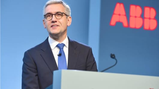 ABB Chief Executive Ulrich Spiesshofer.