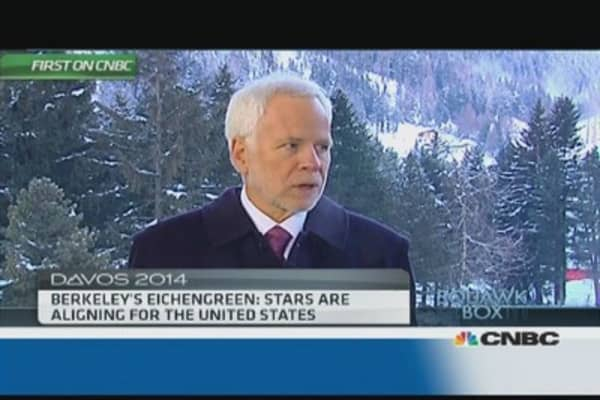 'Stars are aligning' for US growth: Berkeley's Eichengreen
