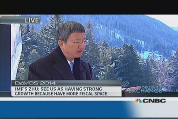 IMF's Min Zhu cautions on Fed tapering