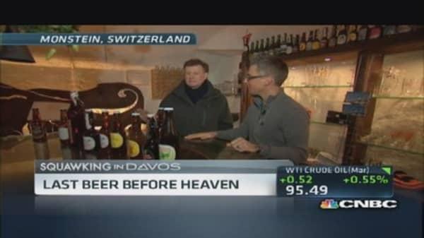 Joe's 'peak' beer experience