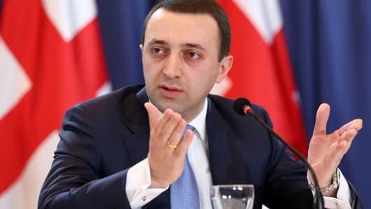 Georgia's Prime Minister Irakli Gharibashvili