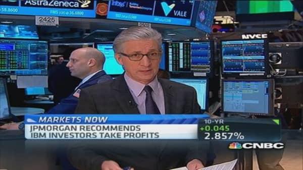 Pisani's market: IBM weak link
