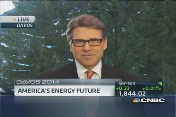 Gov. Perry: America's future depends on energy production