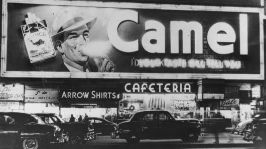 New York's Times Square, circa 1940s.