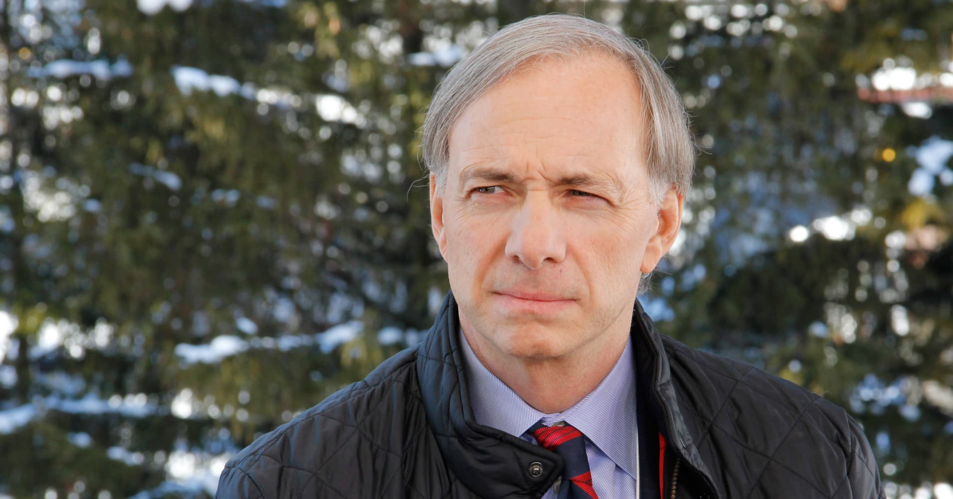 Ray Dalio speaks with CNBC at the 2014 WEF in Davos, Switzerland.