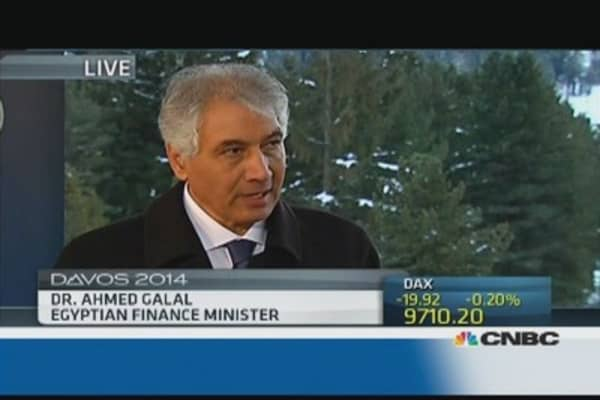 Egypt is sticking to its roadmap: Fin min