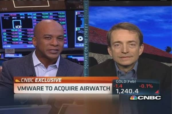VMware CEO: Tectonic shift in mobile cloud world