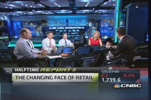 Buy retailers with strong e-commerce: Trader