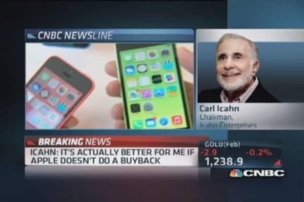 Carl Icahn full interview on Apple's value