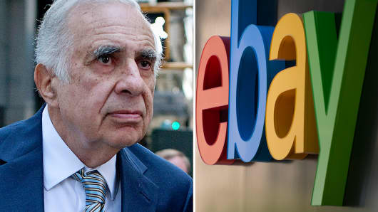 Carl Icahn eyes Ebay Inc.