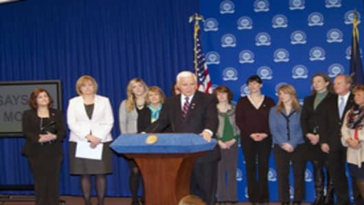 Gov. Corbett group