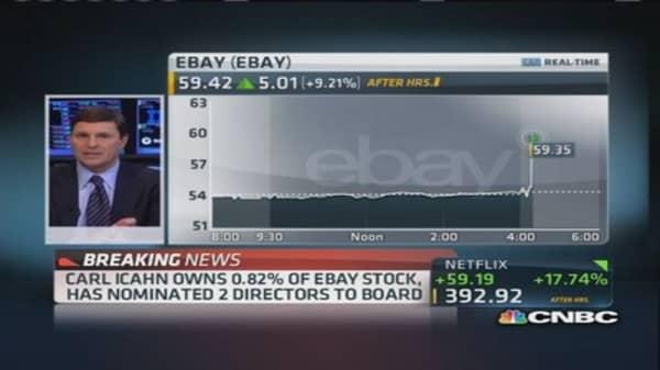 Carl Icahn targets eBay