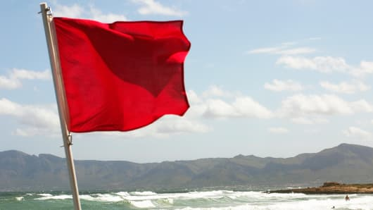 Red flag danger