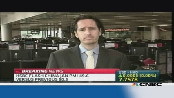 Don't get your hopes up for a China growth pickup: HSBC