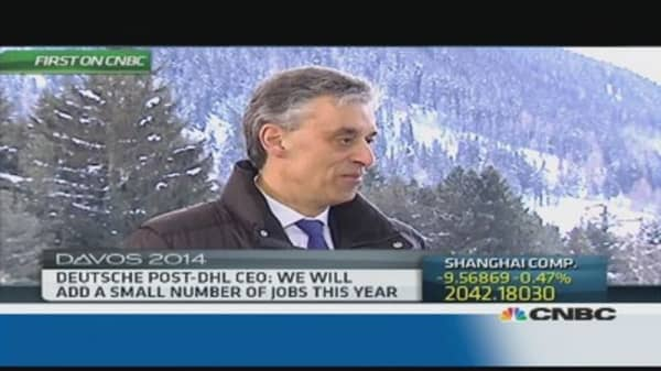 We have our own drones too: Deutsche Post CEO