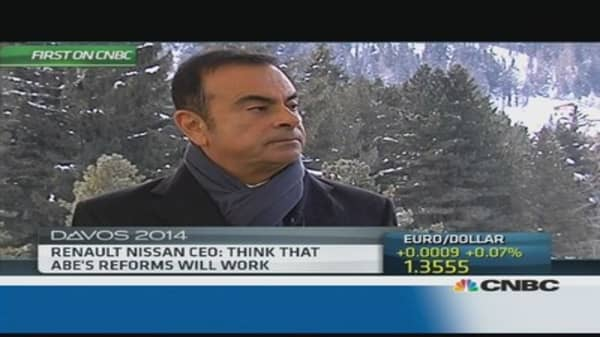 'Premature' to get excited about Iran: Renault Nissan's Ghosn