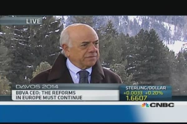 Betting against euro is a 'big mistake': BBVA CEO