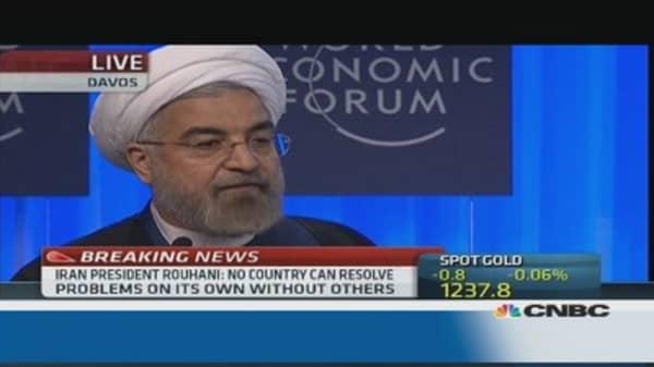 Iran economy on par with EM: Rouhani