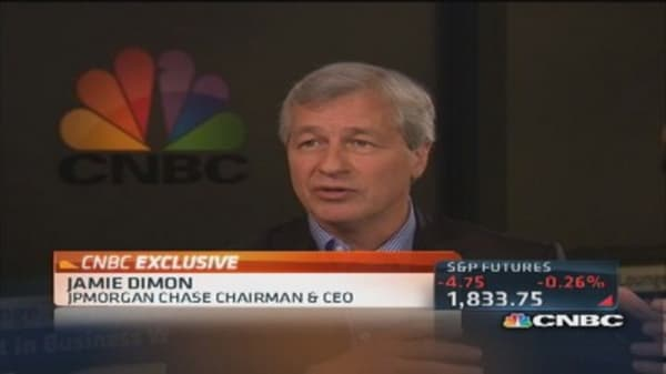 Dimon: Grateful to have problems behind us