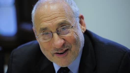 US economist Joseph Stiglitz