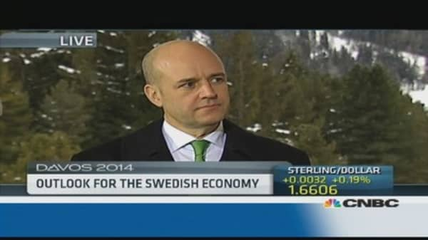 Elections will focus on job creation: Swedish PM
