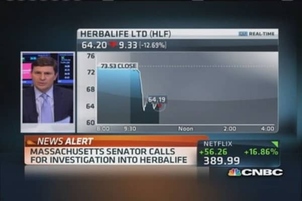 Sen. Ed Markey calls for Herbalife investigation