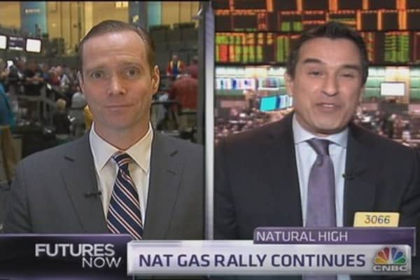 How high can nat gas climb?