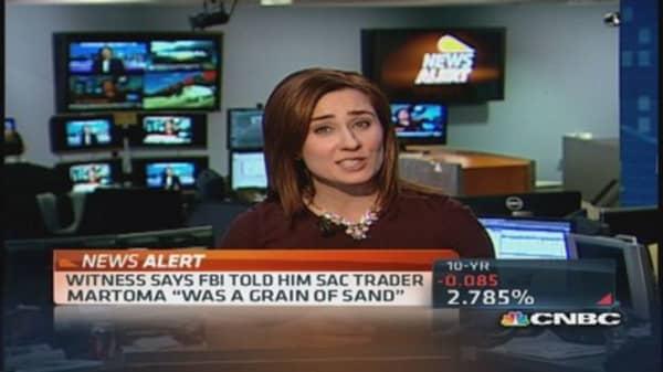 Witness cites Steve Cohen target in insider-trading probe