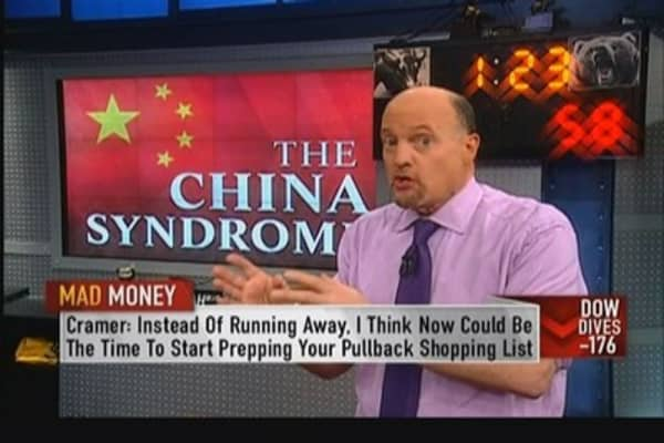 Pain in US stocks connected to China: Cramer
